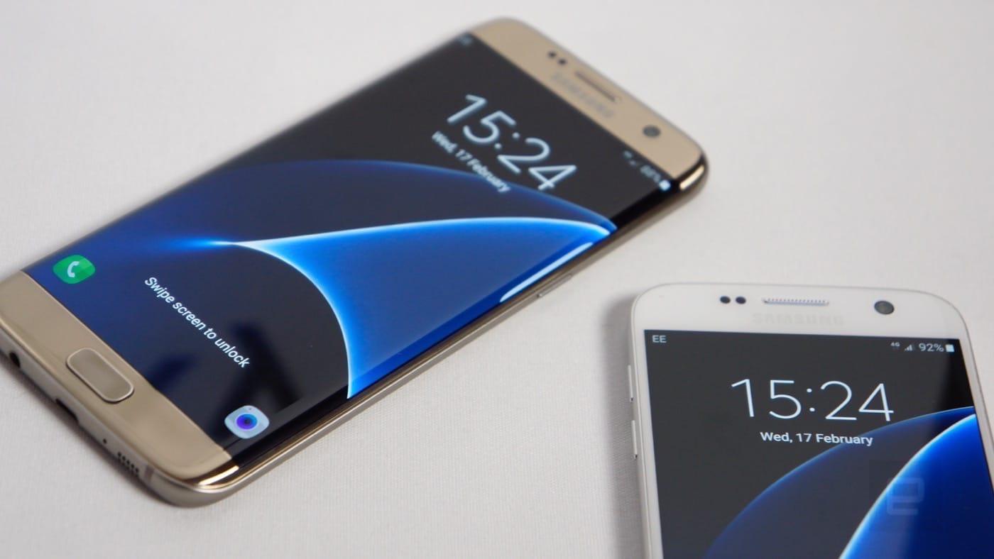 Samsung Galaxy S7 y S7 Edge Salen a la Luz - Celulares